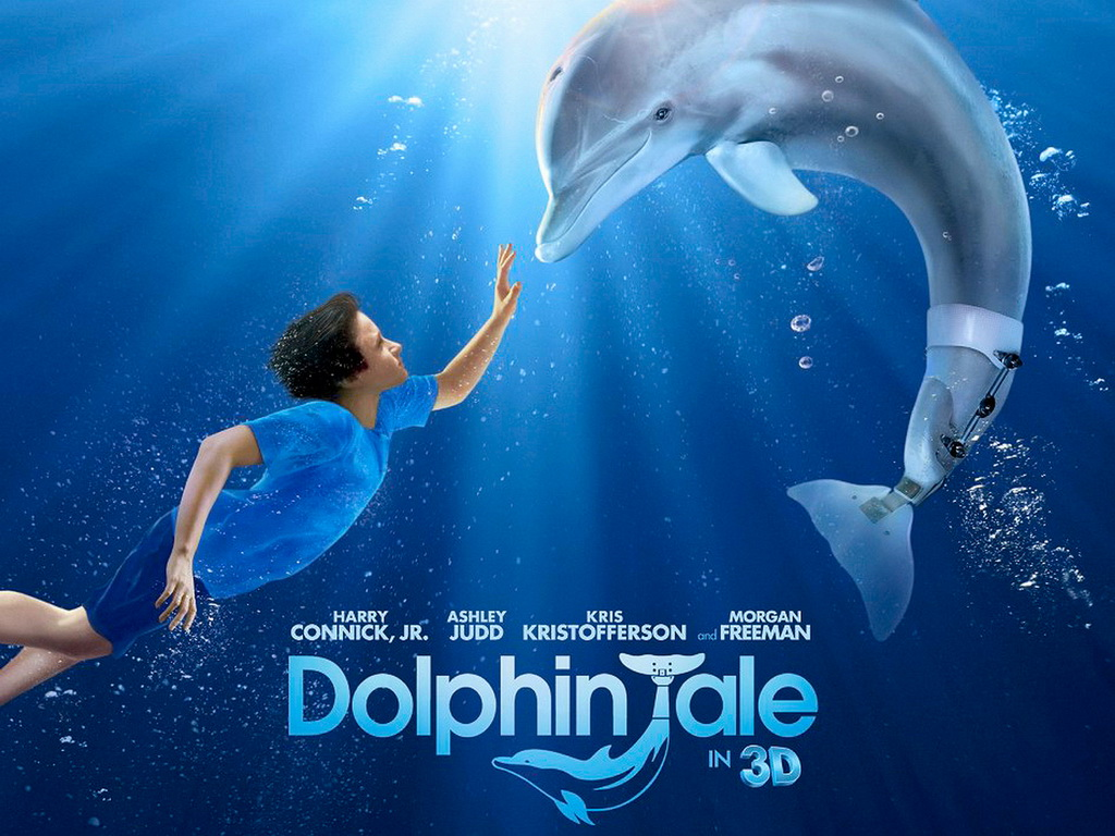 Dolphin Tale (2011) Blu-ray : Above the Line