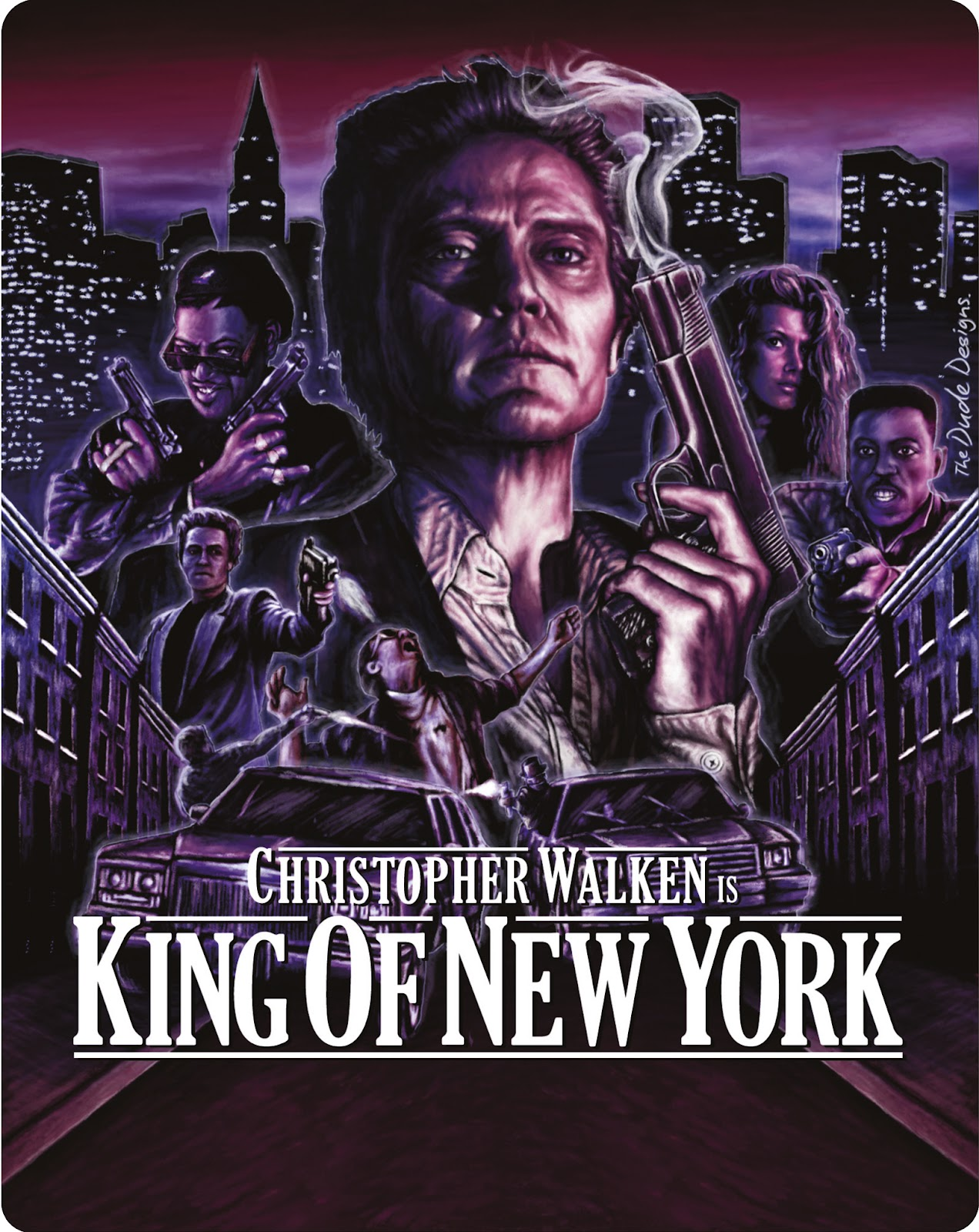 King Of New York 1990 Above The Line